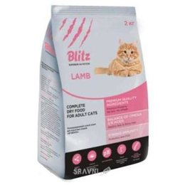 корм для кошек  Blitz Adult Cats Lamb (ягненок) 2 кг