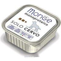 Monge Monoproteico Solo Паштет из оленины 150 г