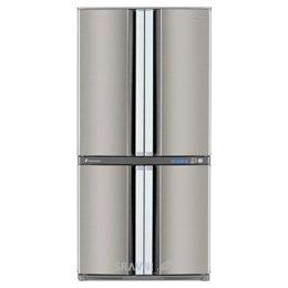 Холодильник и морозильник Sharp SJ-F95PSSL