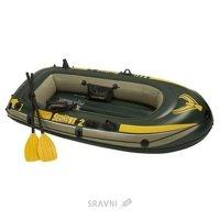 Лодку Intex SeaHawk 200 Set 68347