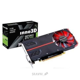 Видеокарту Inno3D GeForce GTX 1050 2GB (N10502-1SDV-E5CM)