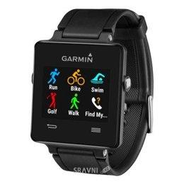 Умные часы, браслет спортивный Garmin vivoactive Black (010-01297-00)