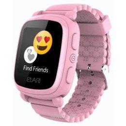 Умные часы, браслет спортивный Elari KidPhone 2 Pink с GPS-трекером (KP-2P)