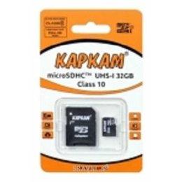 Flash Память (флешку, карту Памяти, SD, MiniSD, MiсroSD) КАРКАМ microSDHC 32Gb Class 10