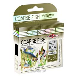 Леску, шнур для рыбалки Mikado Sensei Coarse Fish (0.26mm 150m 8.80kg)