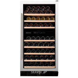Винный и витринный холодильник Dunavox DX-94.270SDSK
