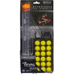Игрушечное оружие Hasbro Магазин Nerf Rival на 12 зарядов и 18 шариков (B1594)